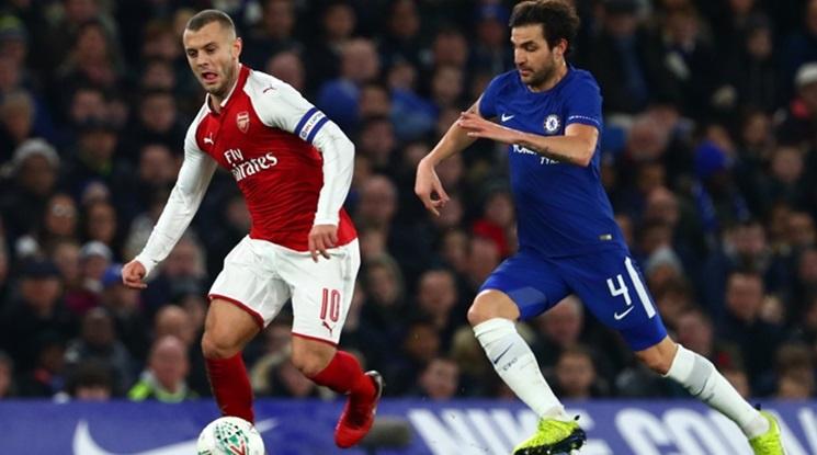 """Нулево реми между Челси и Арсенал на """"Стамфорд бридж"""" (видео)"""
