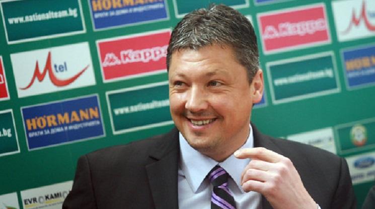 Любо Пенев представи екипа и стратегията си за управление на българския футбол