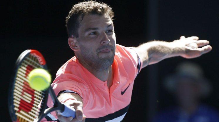Григор Димитров с много измъчена победа във втория кръг на Аустрелиън Оупън (видео)