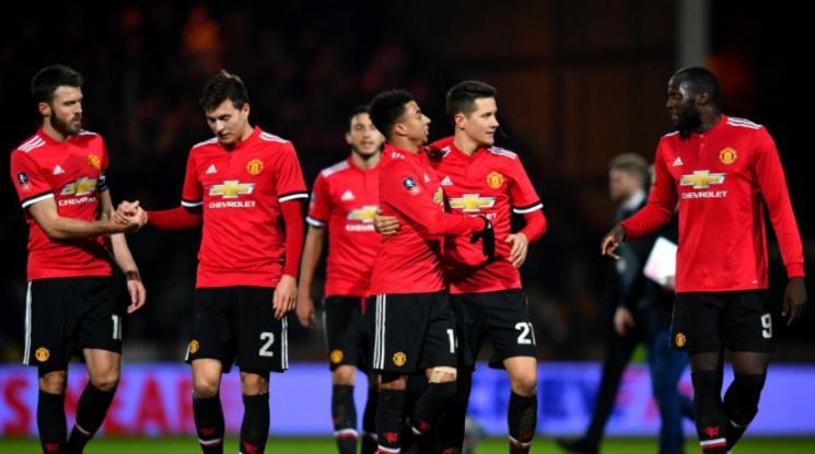 Санчес най-добър в дебюта си за Ман Юнайтед при разгром за ФА Къп (видео)