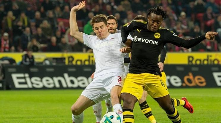 Дортмунд зае второ място в Бундеслигата (видео)