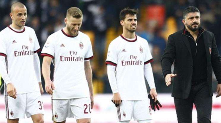 Уникален гол на Сусо не се оказа достатъчен за Милан в Удине (видео)