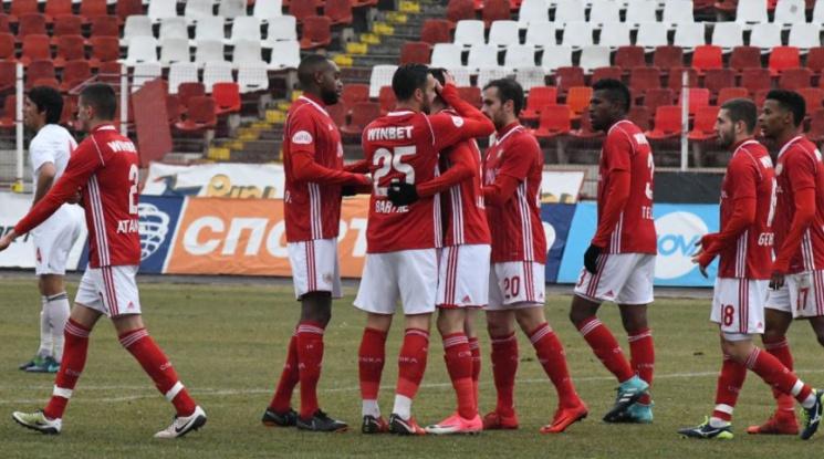 ЦСКА завърши контролите с победа (видео)