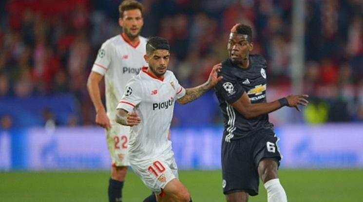 Юнайтед запази мрежата си суха в Севиля (видео)