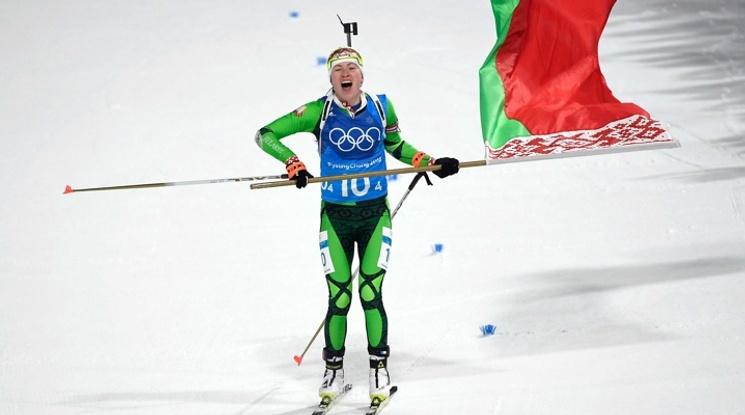 Беларус спечели лудата щафета в женския биатлон