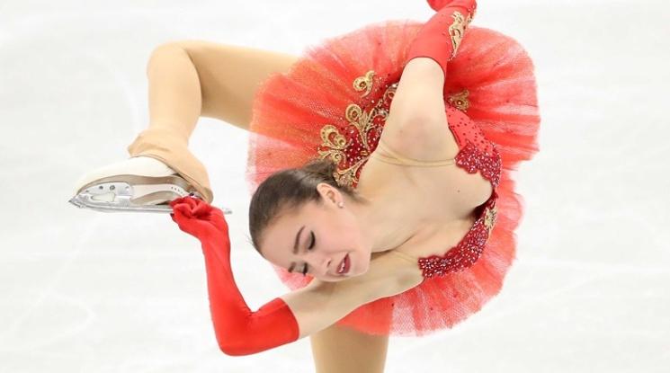 15-годишна фигуристка осигури първо злато на Русия на Олимпиада 2018