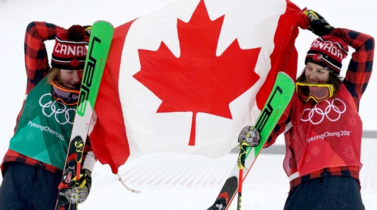 Канада отново със злато и сребро в ски-кроса при жените