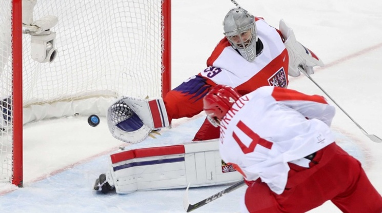Русия за първи път от 20 години е финалист в хокейния турнир