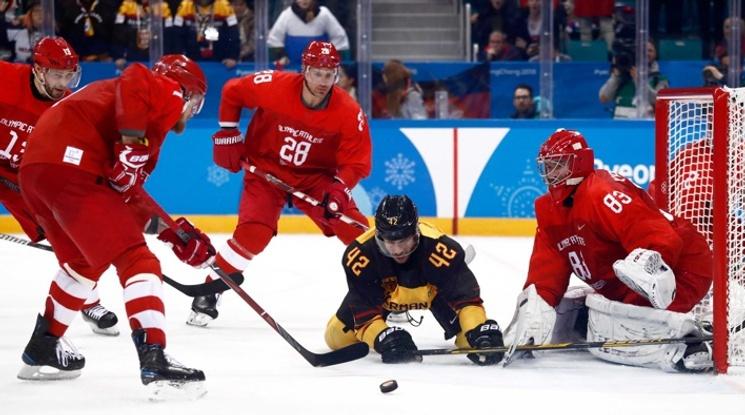 Исторически триумф за хокеистите на Русия в ПьонгЧанг
