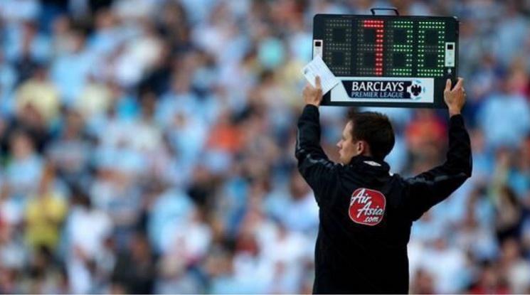 УЕФА въвежда четвърта смяна във футбола