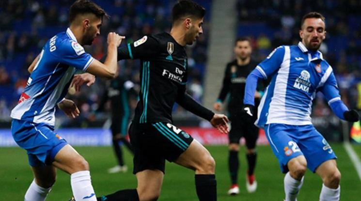 Еспаньол разплака Реал Мадрид с гол в последните секунди (видео)