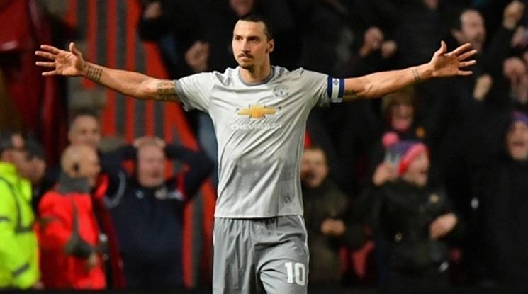 Моуриньо: Златан напуска Юнайтед в края на сезона