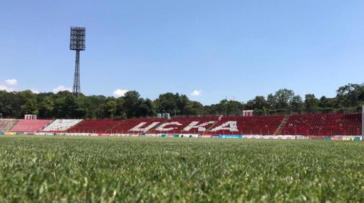ЦСКА стартира подготовката си за мача с Етър