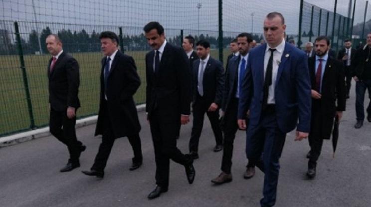 Емирът на Катар гостува на Боби Михайлов