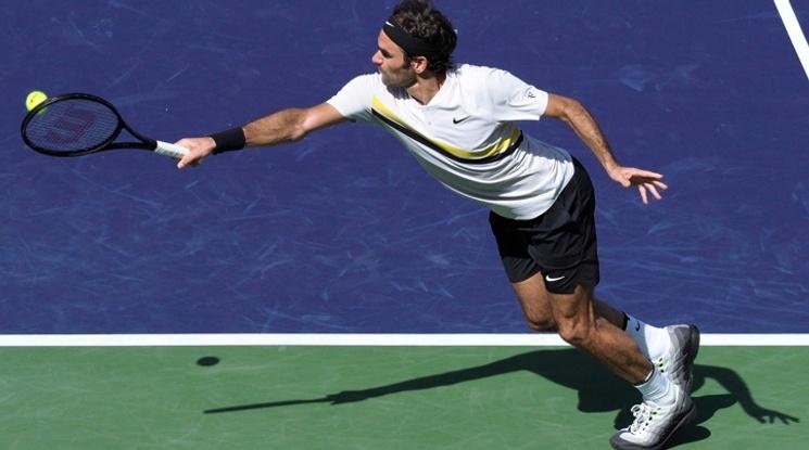 Федерер продължава да мачка конкуренцията