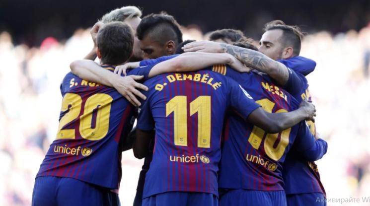 Барса не се затрудни срещу Атлетик Билбао (видео)
