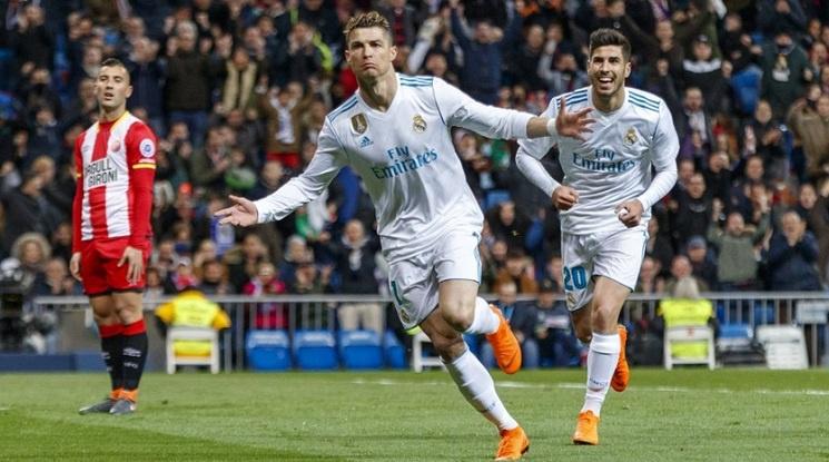 Голов спектакъл за Реал, Кристиано вкара 4 (видео)