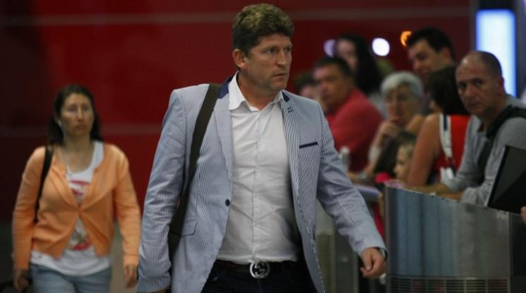 Стойчо Стоилов: Ще забраним на играчите да се радват след гол