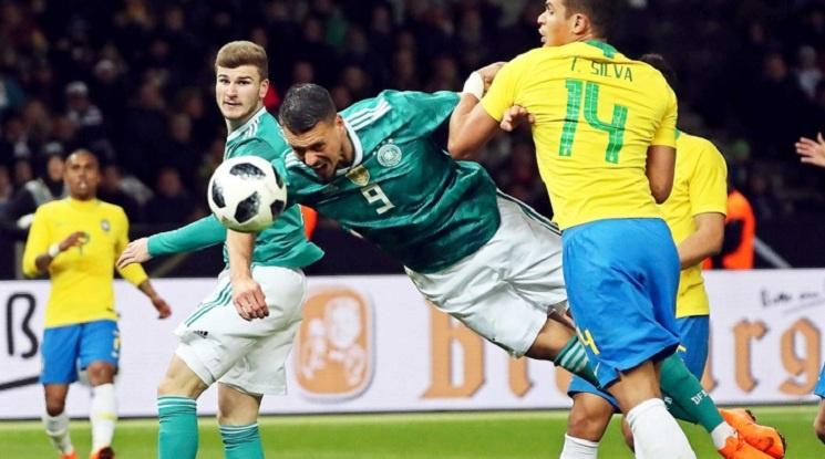 Бразилия пречупи Германия в Берлин, Испания разби Аржентина (видео)