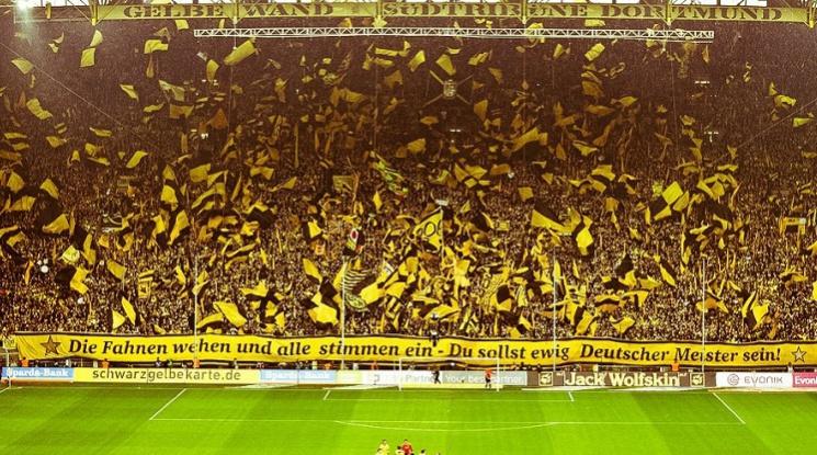 """Евертън прави трибуна като """"Жълтата стена"""""""