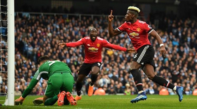 """""""The Times"""" описа какво се е случило в съблекалнята на Юнайтед на почивката на дербито със Сити"""