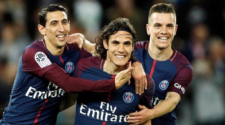 ПСЖ разби Монако със 7:1 и стана шампион на Франция (видео)