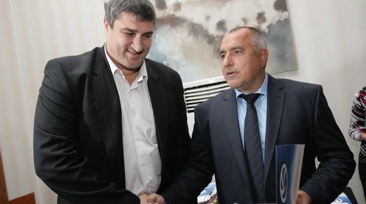 Любо Ганев представи Купата за Световното по волейбол на Бойко Борисов