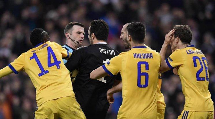 Президентът на УЕФА:  И ВАР нямаше да спаси Ювентус от дузпата
