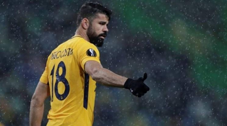 Диего Коста пропуска гостуването на Атлетико в Лондон