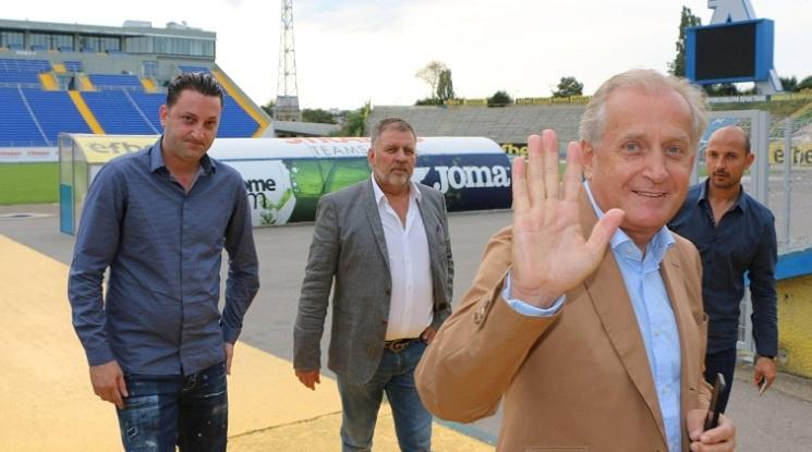 Спас Русев: Държавата да ни помогне за съвременни стадиони