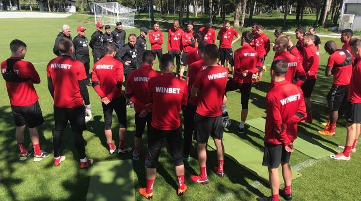 Открита тренировка за феновете на ЦСКА днес