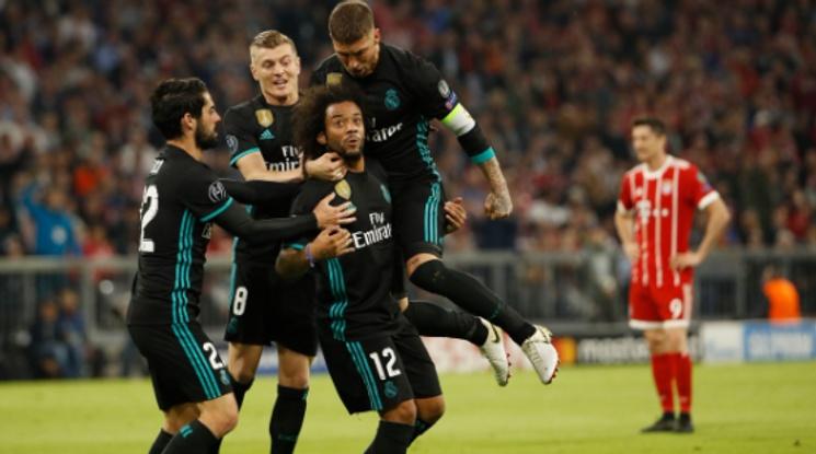 Реал на крачка от трети пореден финал в ШЛ след победа с 2:1 като гост на Байерн (видео)