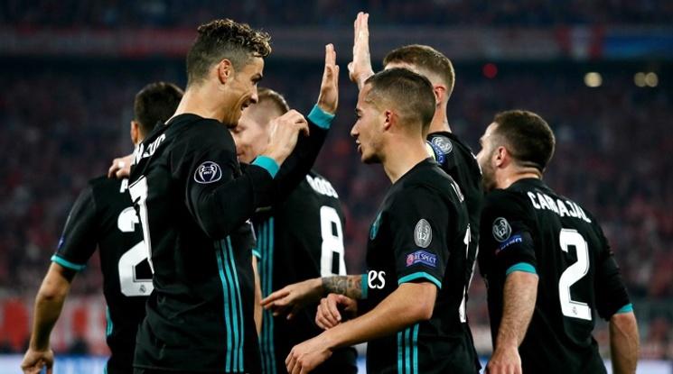 Реал е първият отбор с шест поредни победи срещу Байерн