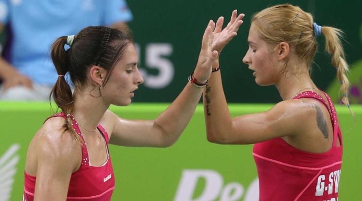 Сестри Стоеви триумфираха с европейската титла в бадминтона