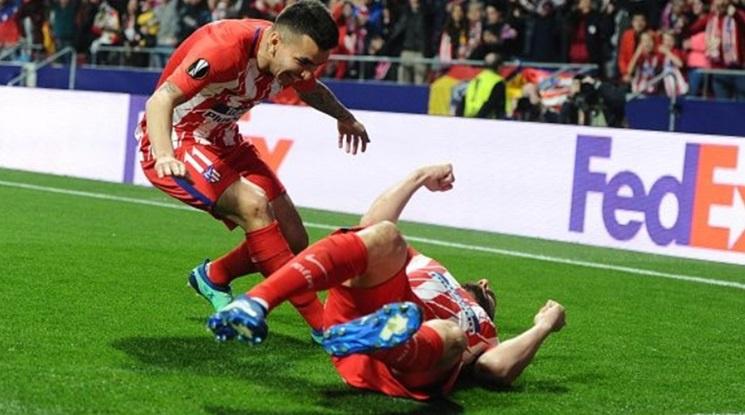 """Атлетико Мадрид пречупи Арсенал в реванша, """"дюшекчиите"""" са на финал (видео)"""