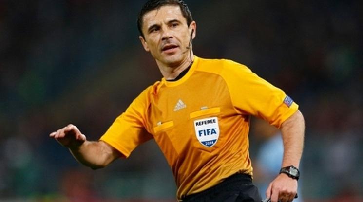 Ясен е главният съдия на финала в Шампионската лига