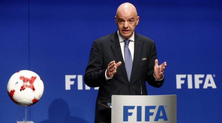 Президентът на ФИФА поздрави Лудогорец