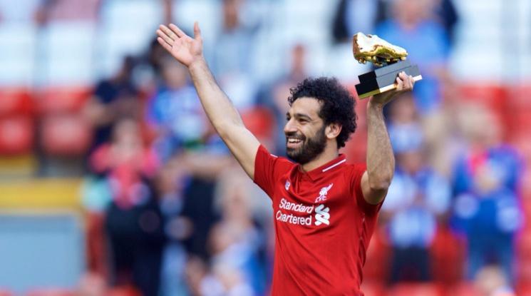 Салах счупи рекорда за най-много голове, Ливърпул завърши в топ 4 (видео)