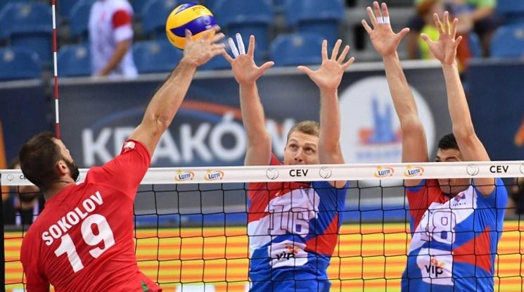 Цветан Соколов - най-добър диагонал в Европа