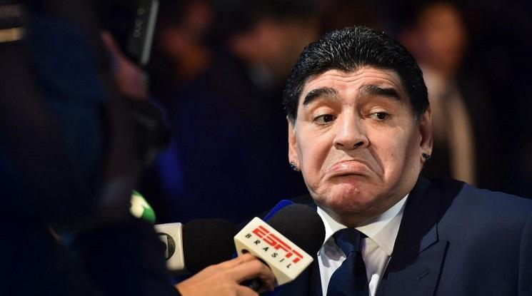Назначиха Марадона за спортен директор на отбор от Беларус