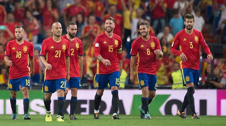 Вижте състава на Испания за Световното първенство