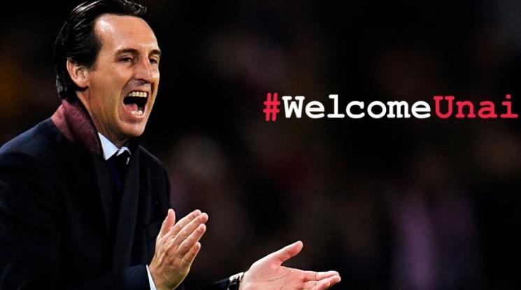 Официално: Унай Емери е новият мениджър на Арсенал