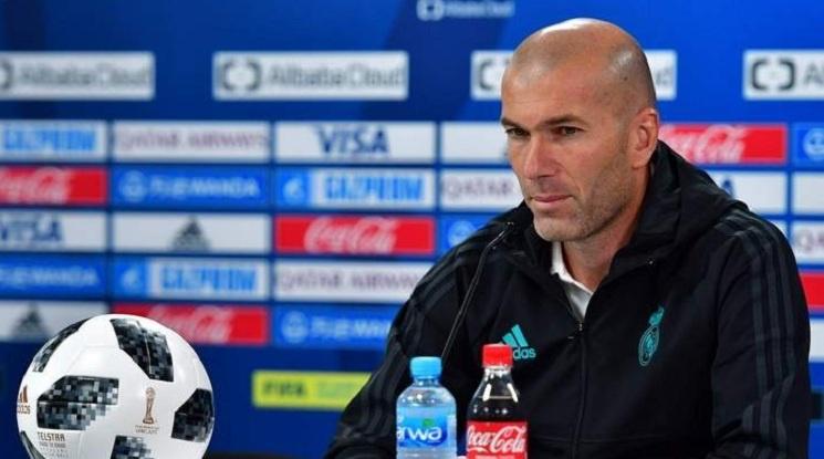 Трус в Испания! Зидан напусна Реал Мадрид
