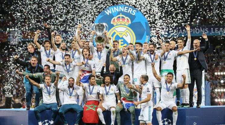 Футболистите на Реал благодариха на Зизу
