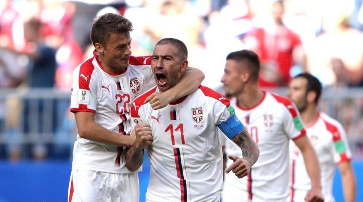 Мощна тупалка на Коларов донесе победа на Сърбия (видео)