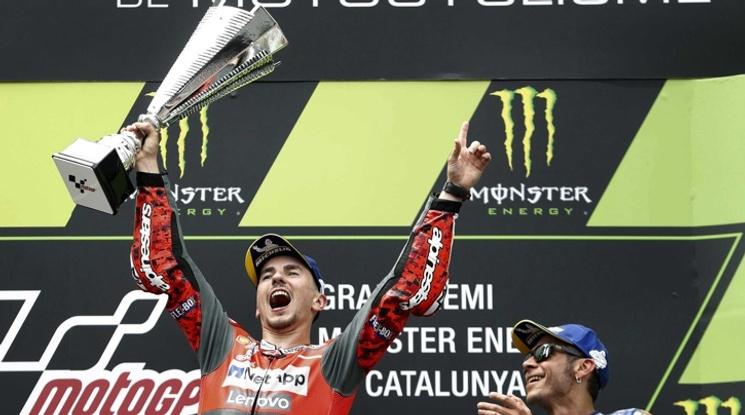 Хорхе Лоренцо спечели Гран при на Каталуния