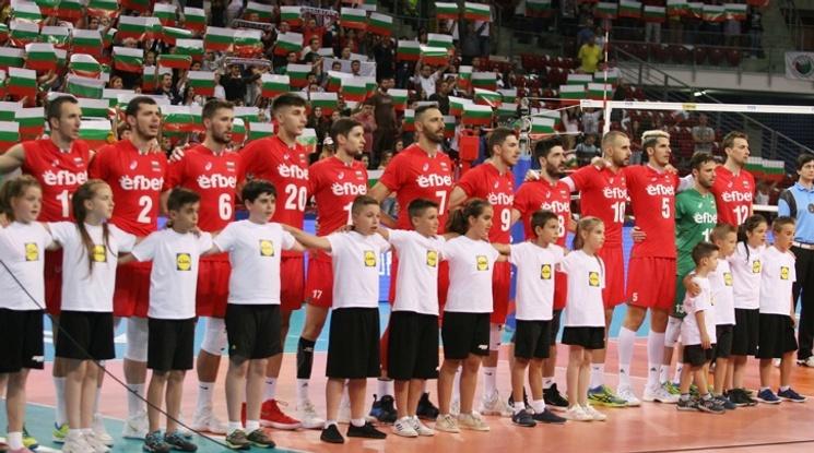 Лъвовете повалиха олимпийския шампион във Варна