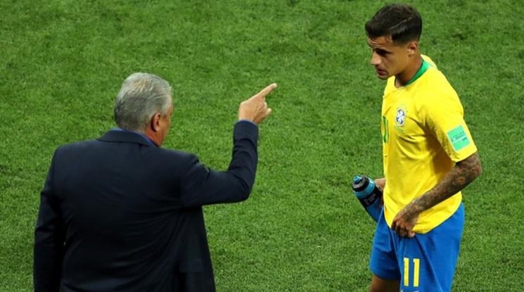 Коутиньо: Имаше нарушение при гола на Швейцария, но...