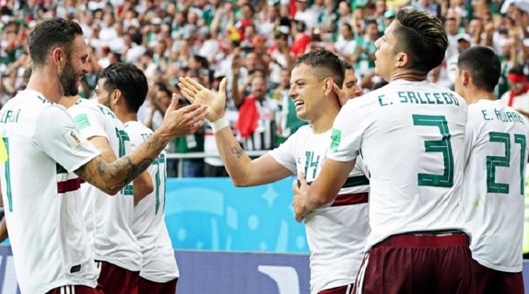 Мексико не сбърка и е с пълен актив в групата (видео)