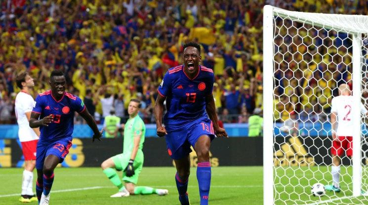 Категорична победа за Колумбия и Полша е аут от Мондиала (видео)